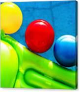 Pool Toys Canvas Print