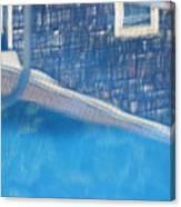 Poolhouse Canvas Print