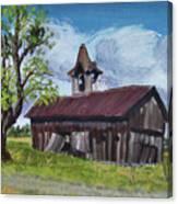 Poor Old Barn Canvas Print