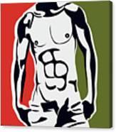 Pop Art Body  Canvas Print