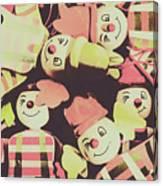 Pop Art Clown Circus Canvas Print