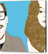 Pop Art Pals Canvas Print