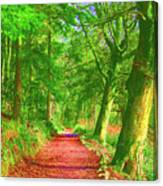 Pop Art Path Canvas Print