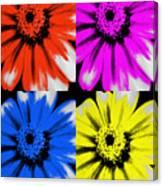 Pop Art Petals Canvas Print