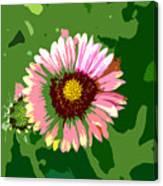 Pop Flower Work Number 23 Canvas Print
