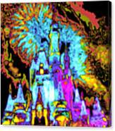 Popart Castle Canvas Print