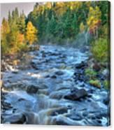 Poplar River  Canvas Print