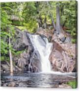 Poplar Stream Falls Canvas Print