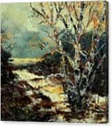 Poplars 45 Canvas Print