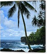Poponi Ulaino Mokupupu Maui North Shore Hawaii Canvas Print