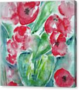 Poppies Celebration Canvas Print
