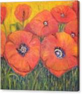 Poppies For My Sister Canvas Print