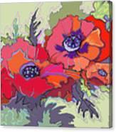 Poppies IIi Canvas Print
