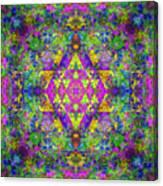 Poppy Opal Yantra Canvas Print