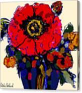 Poppy Passion Canvas Print