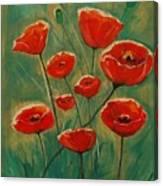 Poppy Surprise Canvas Print