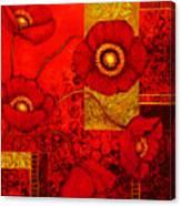 Poppy Treasures II Canvas Print