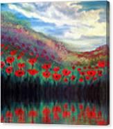 Poppy Wonderland Canvas Print