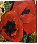 Poppygold Canvas Print