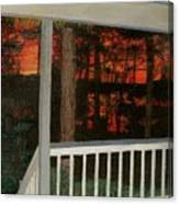 Porchlight Canvas Print