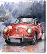 Porsche 356 B Roadster Canvas Print
