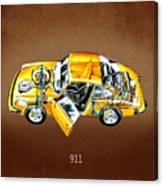 Porsche 911 1973 Canvas Print
