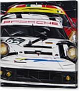 Porsche 911 Rsr Le Mans Canvas Print