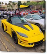 Porsche 911 Targa Gullwing Canvas Print