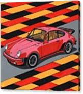 Porsche 911 Turbo Canvas Print