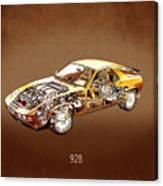 Porsche 928 1980 Canvas Print