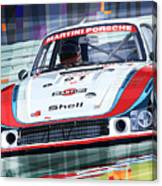 Porsche 935 Coupe Moby Dick Martini Racing Team Canvas Print