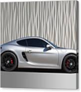 Porsche Beautiful Dream Sports Car Canvas Print