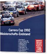 Porsche Carrera Cup 1992 Canvas Print