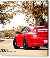 Porsche Gt3 Centerlock Adv1 3  Canvas Print