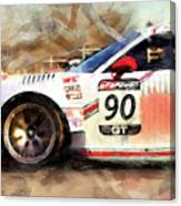 Porsche Gt3 Martini Racing - 01 Canvas Print