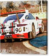 Porsche Gt3 Martini Racing - 02 Canvas Print