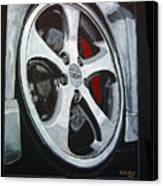 Porsche Techart Wheel Canvas Print