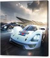 Porsche Vision Gt Concept Canvas Print