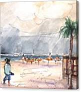 Port Alcudia Beach 01 Canvas Print