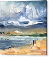 Port Alcudia Beach 03 Canvas Print