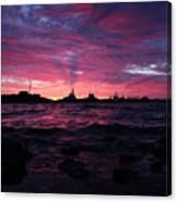 Port Angeles Harbor Twelve Canvas Print