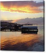 Port Angeles Sunset Canvas Print