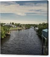 Port Charlotte Atlantus Waterway From Ohara Canvas Print