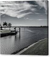 Port Charlotte Bay Harbor Waterway From Ohara Canvas Print