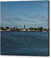 Port Charlotte Beeney Water Way From Beeney Canvas Print