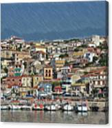 Port City Parga Greece - Dwp1163344 Canvas Print