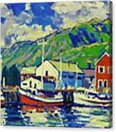 Port De Peche' Canvas Print