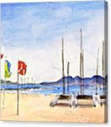 Port De Pollenca 02 Canvas Print