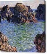 Port Goulphar Belle Ile Brittany Canvas Print