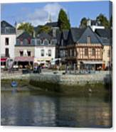 Port Of St Goustan In Brittany  France Canvas Print